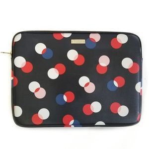 KATE SPADE Polka Dot Laptop Tablet Sleeve Case